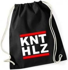 """Zum Sportbeutel """"KNTHLZ"""" für 8,00 € gehen."""