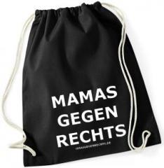 """Zum Sportbeutel """"Mamas gegen Rechts"""" für 8,00 € gehen."""