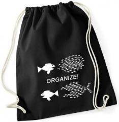"""Zum Sportbeutel """"Organize! Fische"""" für 8,00 € gehen."""
