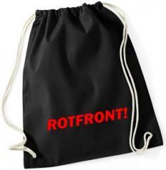 """Zum Sportbeutel """"Rotfront!"""" für 8,00 € gehen."""