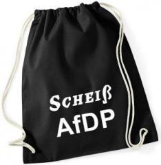 """Zum Sportbeutel """"Scheiß AfDP"""" für 8,00 € gehen."""