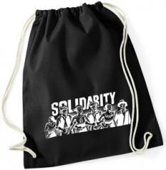 """Zum Sportbeutel """"Solidarity"""" für 8,00 € gehen."""