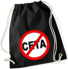 """Zum Sportbeutel """"Stop CETA"""" für 8,00 € gehen."""
