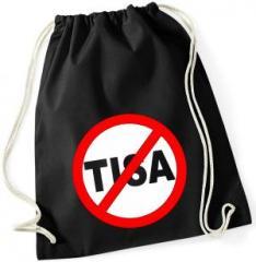 """Zum Sportbeutel """"Stop TISA"""" für 8,00 € gehen."""