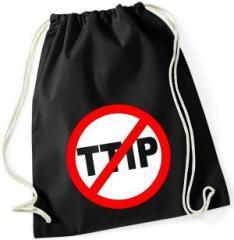 """Zum Sportbeutel """"Stop TTIP"""" für 8,00 € gehen."""