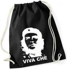 """Zum Sportbeutel """"Viva Che Guevara (weiß/schwarz)"""" für 7,80 € gehen."""