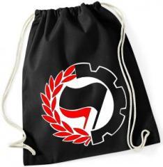 """Zum Sportbeutel """"Working Class Antifa"""" für 8,00 € gehen."""