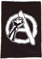 """Zum Rückenaufnäher """"Anarchie Faust"""" für 3,00 € gehen."""