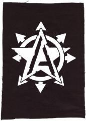 """Zum Rückenaufnäher """"Anarchy Star"""" für 3,00 € gehen."""