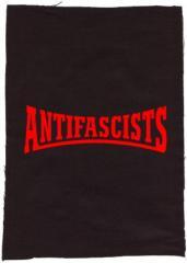 """Zum Rückenaufnäher """"Antifascists"""" für 3,00 € gehen."""