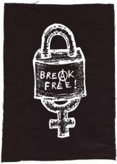 """Zum Rückenaufnäher """"Break Free"""" für 3,00 € gehen."""