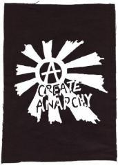 """Zum Rückenaufnäher """"Create Anarchy"""" für 3,00 € gehen."""
