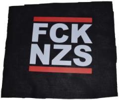 """Zum Rückenaufnäher """"FCK NZS"""" für 2,92 € gehen."""