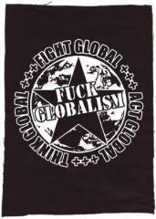 """Zum Rückenaufnäher """"Fuck Globalism"""" für 3,00 € gehen."""