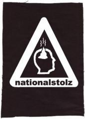 """Zum Rückenaufnäher """"Nationalstolz"""" für 3,00 € gehen."""