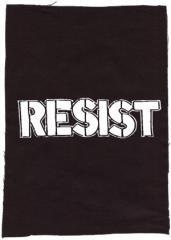 """Zum Rückenaufnäher """"Resist"""" für 3,00 € gehen."""