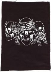 """Zum Rückenaufnäher """"Skulls"""" für 3,00 € gehen."""