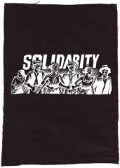 """Zum Rückenaufnäher """"Solidarity"""" für 3,00 € gehen."""