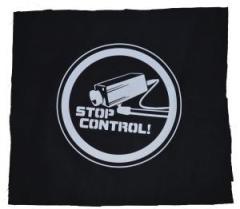 """Zum Rückenaufnäher """"Stop Control Kamera"""" für 3,00 € gehen."""