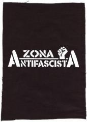 """Zum Rückenaufnäher """"Zona Antifascista"""" für 3,00 € gehen."""