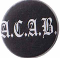 """Zum 37mm Magnet-Button """"ACAB Fraktur"""" für 2,50 € gehen."""