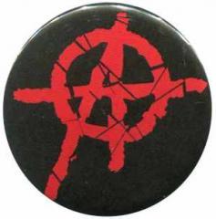 """Zum 37mm Magnet-Button """"Anarchie (rot) 2"""" für 2,44 € gehen."""