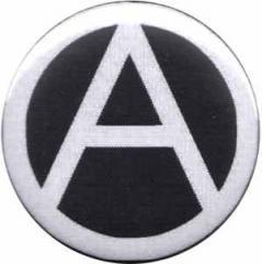 """Zum 37mm Magnet-Button """"Anarchie (schwarz)"""" für 2,50 € gehen."""