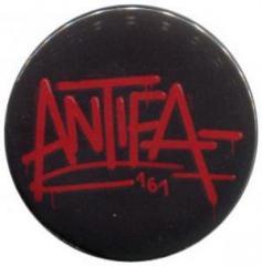"""Zum 37mm Magnet-Button """"Antifa 161"""" für 2,50 € gehen."""