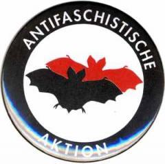 """Zum 37mm Magnet-Button """"Antifaschistische Aktion (Fledermaus)"""" für 2,50 € gehen."""