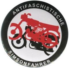 """Zum 37mm Magnet-Button """"Antifaschistische Simsonfahrer"""" für 2,63 € gehen."""
