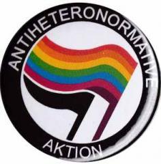 """Zum 37mm Magnet-Button """"Antiheteronormative Aktion"""" für 2,50 € gehen."""