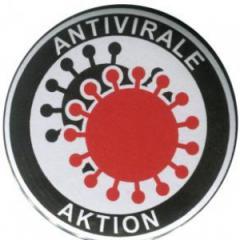 """Zum 37mm Magnet-Button """"Antivirale Aktion"""" für 2,44 € gehen."""