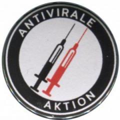 """Zum 37mm Magnet-Button """"Antivirale Aktion - Spritzen"""" für 2,50 € gehen."""
