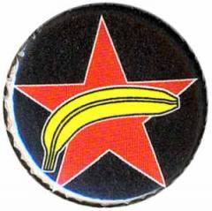 """Zum 37mm Magnet-Button """"APPD - Roter Stern + Banane"""" für 2,50 € gehen."""