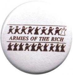 """Zum 37mm Magnet-Button """"Armies of the rich"""" für 2,50 € gehen."""