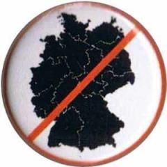 """Zum 37mm Magnet-Button """"Deutsche Karte durchgestrichen"""" für 2,50 € gehen."""