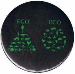 """Zum 37mm Magnet-Button """"Ego - Eco"""" für 2,50 € gehen."""