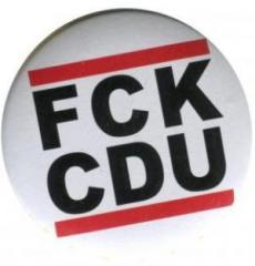 """Zum 37mm Magnet-Button """"FCK CDU"""" für 2,50 € gehen."""