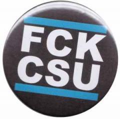 """Zum 37mm Magnet-Button """"FCK CSU"""" für 2,50 € gehen."""