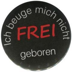 """Zum 37mm Magnet-Button """"Frei geboren"""" für 2,50 € gehen."""