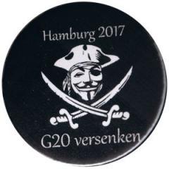 """Zum 37mm Magnet-Button """"G20 versenken"""" für 2,50 € gehen."""