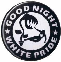 """Zum 37mm Magnet-Button """"Good night white pride - Pflanze"""" für 2,44 € gehen."""