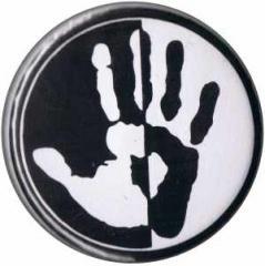 """Zum 37mm Magnet-Button """"Hand"""" für 2,50 € gehen."""