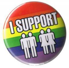 """Zum 37mm Magnet-Button """"I support"""" für 2,50 € gehen."""