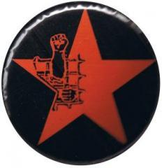"""Zum 37mm Magnet-Button """"Knaststern (rot, mit schwarzem Hintergrund)"""" für 2,50 € gehen."""