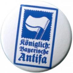 """Zum 37mm Magnet-Button """"Königlich Bayerische Antifa (KBA)"""" für 2,50 € gehen."""