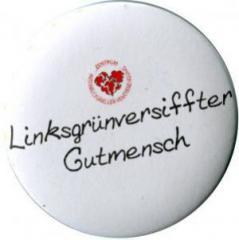 """Zum 37mm Magnet-Button """"Linksgrün versiffter Gutmensch (ZIVD)"""" für 2,70 € gehen."""