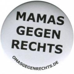 """Zum 37mm Magnet-Button """"Mamas gegen Rechts"""" für 2,44 € gehen."""