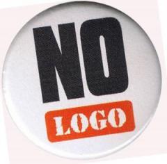 """Zum 37mm Magnet-Button """"No logo"""" für 2,44 € gehen."""
