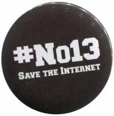 """Zum 37mm Magnet-Button """"#no13"""" für 2,50 € gehen."""